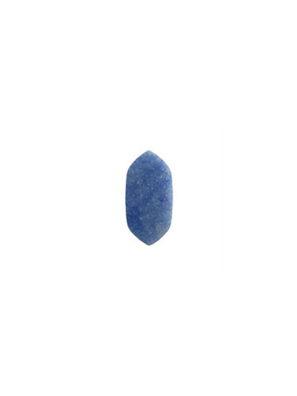 Large Blue Aventurine Spacer