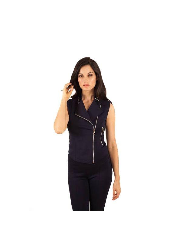 Lucille Sleeveless Jacket