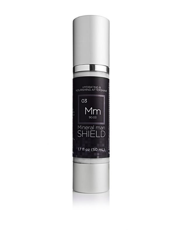 Mineral Man Shield (Aftershave/Moisturizer)