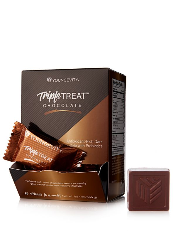 Triple Treat™ Chocolate - 20 Ct