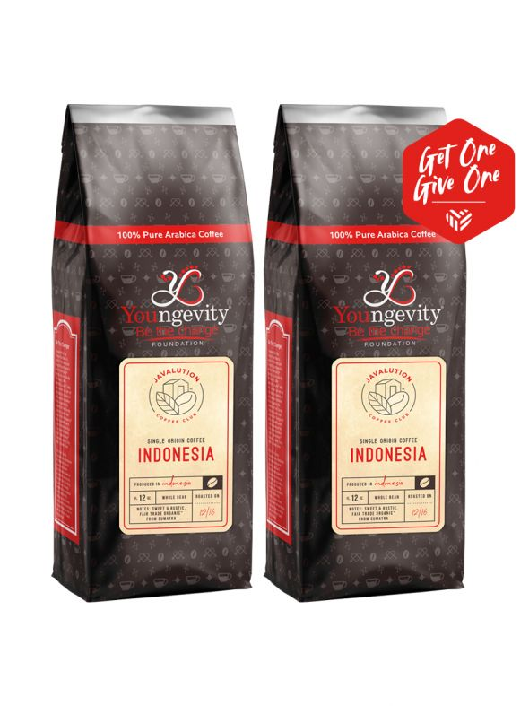 Single Origin Coffee Indonesia Whole Bean [QTY: 2 | Get One, Give One FREE]